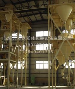 滑石粉分级分选生产线